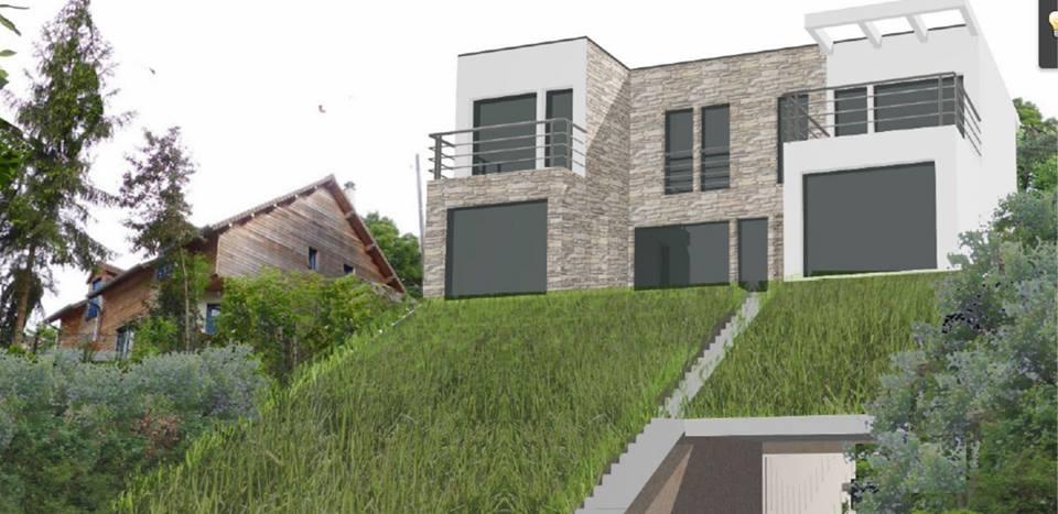 cr ons notre maison pr sentation construction d 39 une maison d 39 architecte cologique et z ro gachis. Black Bedroom Furniture Sets. Home Design Ideas