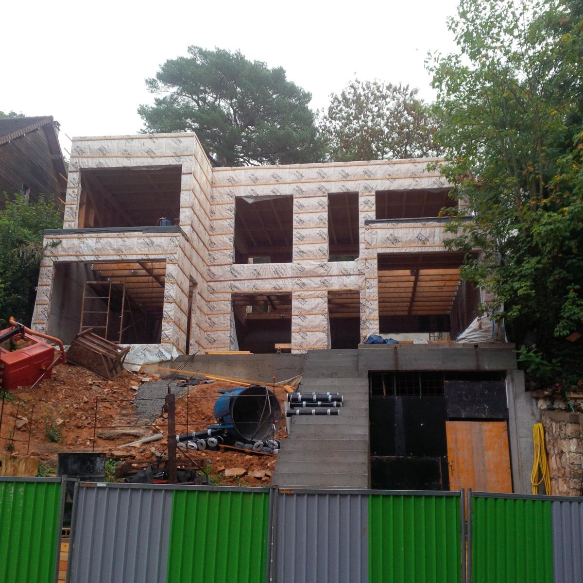 Etape 5 r cit de la construction les tapes de la construction d une maison - Les etapes de construction d une maison ...